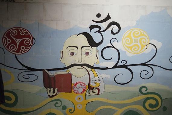Один з етапів роботи над графіті